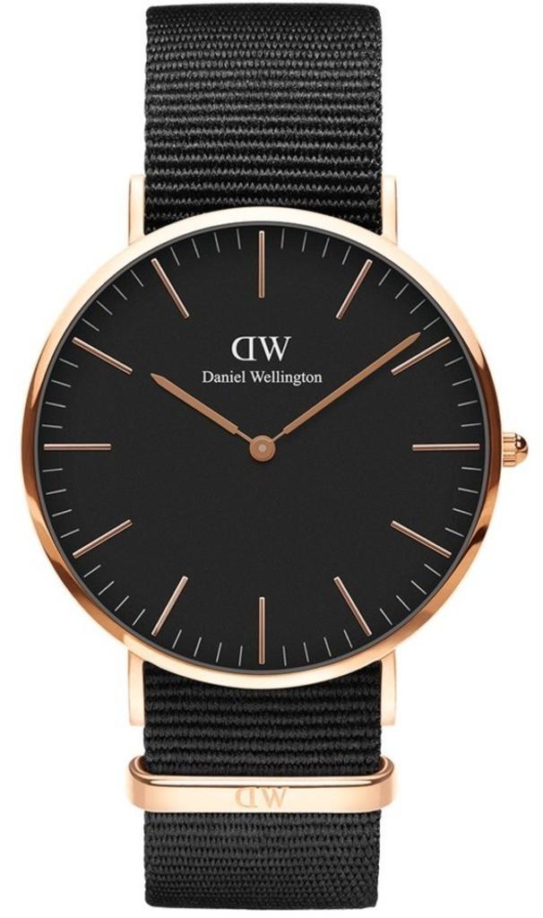 Часы Daniel Wellington DW00100148 Black Cornwall 40