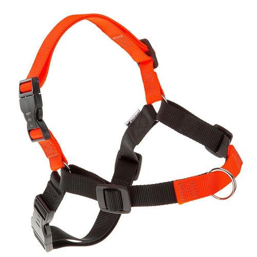 Шлейка Ferplast Coach P L-XL Harness Orange для дрессировки, A: 40x53 см, B: 76x115 см