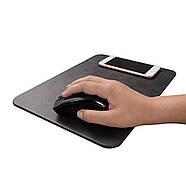 Беспроводное Зарядное Устройство (коврик для мышки) JETIX MousePad 3 Black с Qi-ресивером в подарок, фото 4
