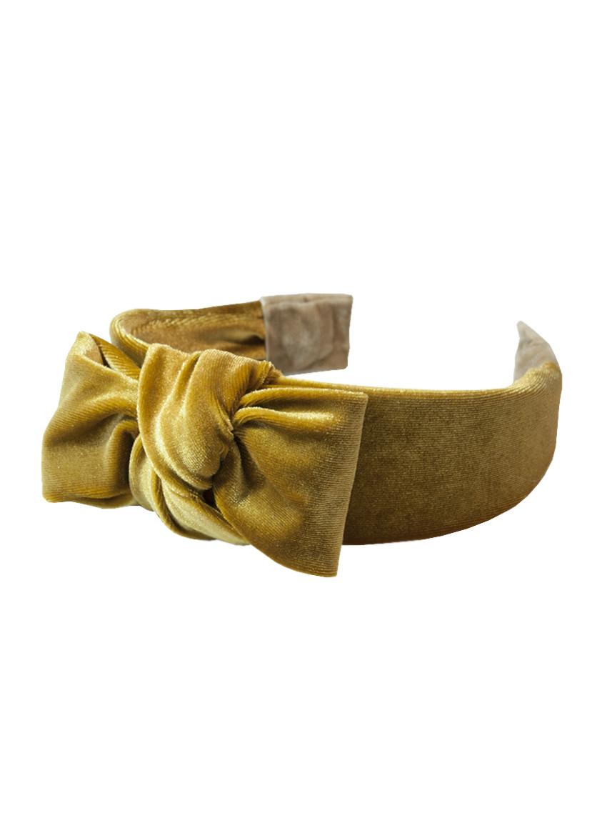 Стильный бархатный обруч ободок для волос My Scarf