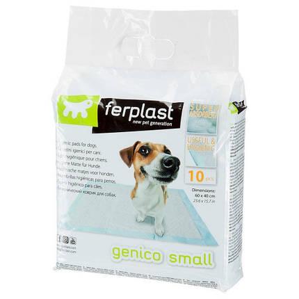 Пеленки Genico Small для собак, 60x40 см, фото 2