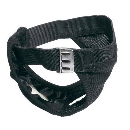 Гигиенические трусы Culotte Hygienic Black Mini для собак, черные, 32x37 см, фото 2