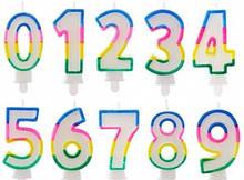 Свічки цифри