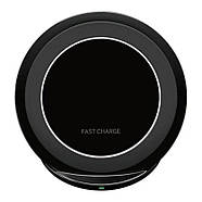 Беспроводная эфективнвя зарядка JETIX S7 Fast Charge Black для смартфонов, фото 3