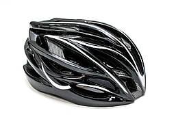 Велосипедный шлем FSK AH404(черно-белый)