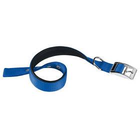 Нейлоновий нашийник Ferplast Daytona C25/45 Blue для собак, синій, A: 37x45 см, B: 25 мм