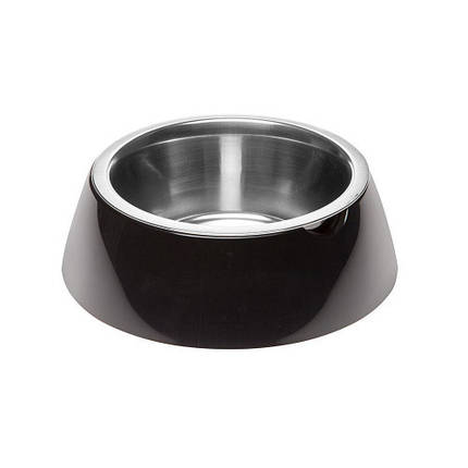 Ferplast Jolie Small Black Bowl металлическая миска для собак и кошек, 17,1 см, фото 2