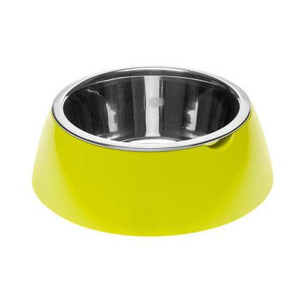 Ferplast Jolie Medium Green Bowl металлическая миска для собак и кошек, 20 см, фото 2