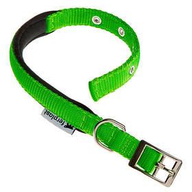 Нейлоновий нашийник Ferplast Daytona C25/45 Green для собак, зелений, A: 37x45 см, B: 25 мм