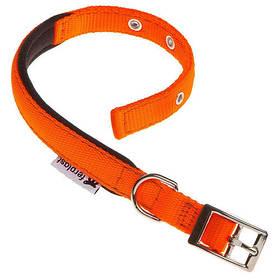 Нейлоновий нашийник Ferplast Daytona C25/53 Orange для собак, помаранчевий, A: 45x53 см, B: 25 мм