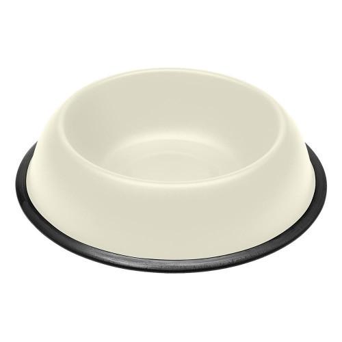 Ferplast Mira KC 78 Bowl White металлическая окрашенная миска для собак и кошек, белая, 28 см