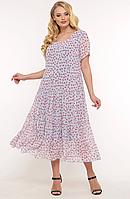 Платье летнее  VР332 голубое, фото 1