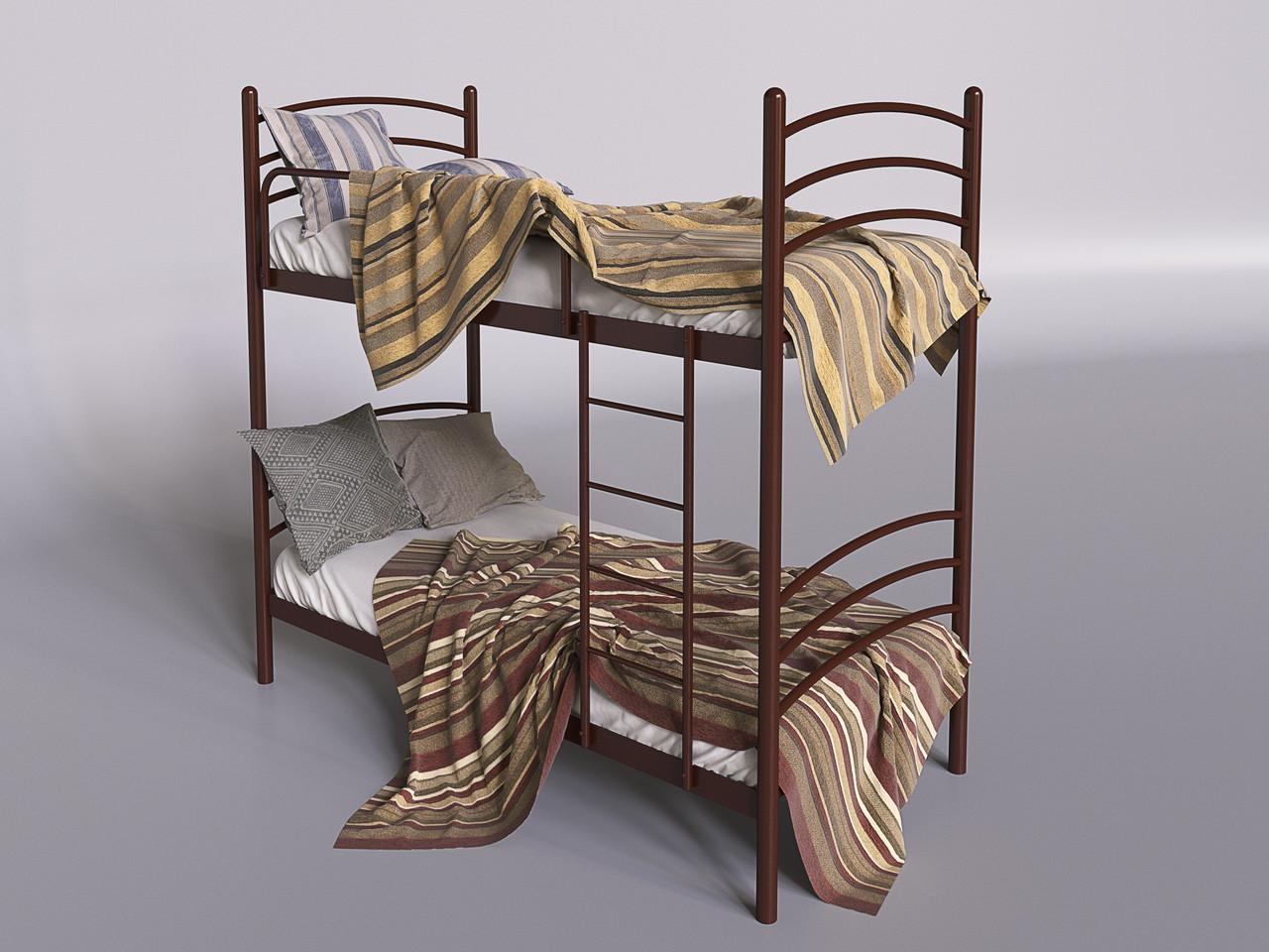 Металлическая двухъярусная кровать Маранта ТМ Tenero