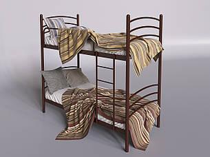 Металлическая двухъярусная кровать Маранта ТМ Tenero, фото 2