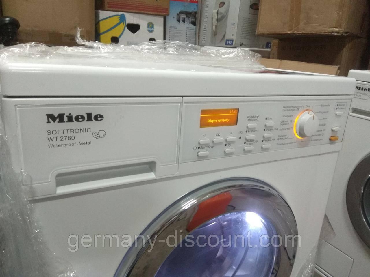 Стирально-сушильная машина Miele WT 2780 WPM