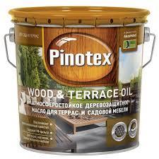 Деревозащитное масло PINOTEX TERRACE & WOOD OIL (Террасное масло) 3 л