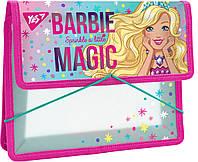 Папка для зошитів В5 Barbie пластик на гумці Yes