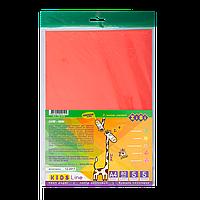 Набір кольорового паперу А4 5 арк НЕОН Zibi