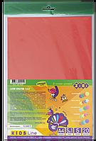Набір кольорового паперу А4 20 арк Креатив Zibi