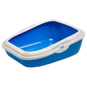 Відкритий туалет Ferplast Litter Tray Moderna для кішок з фіксатором гігієнічного мішка