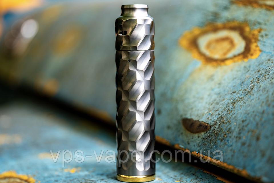 Flamethrower 21700 Mech Mod & Cap by Comp Lyfe