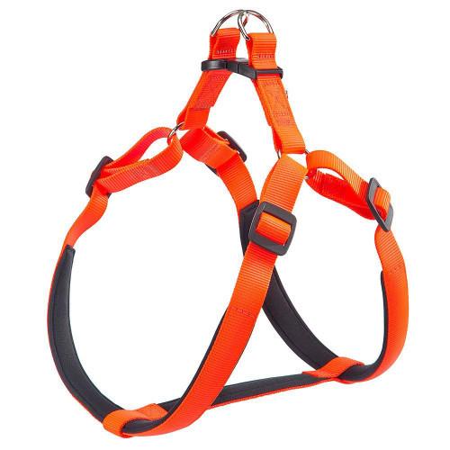 Нейлоновая шлейка Ferplast Daytona P Harness Extra Large Orange для собак, A: 82÷89 см, B: 88÷99 см