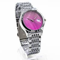 Часы женские наручные на металлическом ремне циферблат в стразах модный хит Копия Sk-137