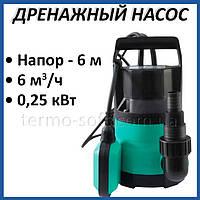 Дренажный насос Taifu GP 250 0,25 кВт погружной для откачки грязной воды и полива
