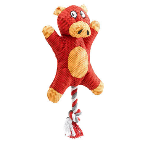 Игрушка Ferplast PA 6537 для собак из ткани со шнуром, 13x7x27 см