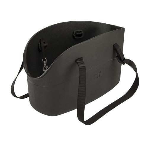 М'яка переноска Ferplast With-Me Bag Black для дрібних собак до 8 кг, чорна, 43.5×21.5×27 см