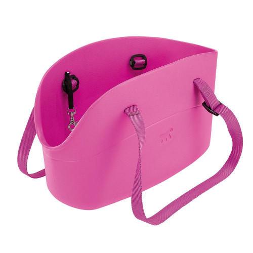 М'яка переноска Ferplast With-Me Bag Purple для маленьких собак, 21,5x43,5x27 см
