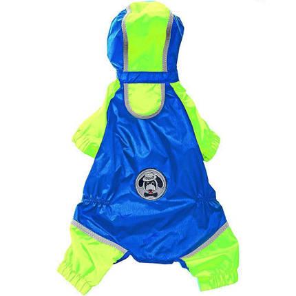 Одежда с защитой от ветра и влаги Ferplast Sporting Blue TG 40 для собак, 40 см, фото 2