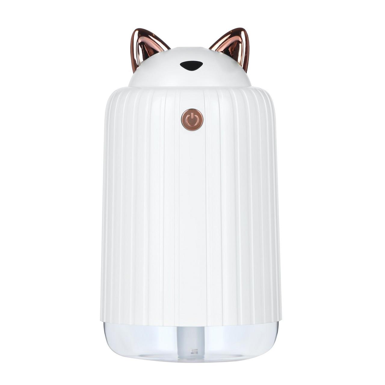 Мини Увлажнитель-ночник Happy Cat (белый)