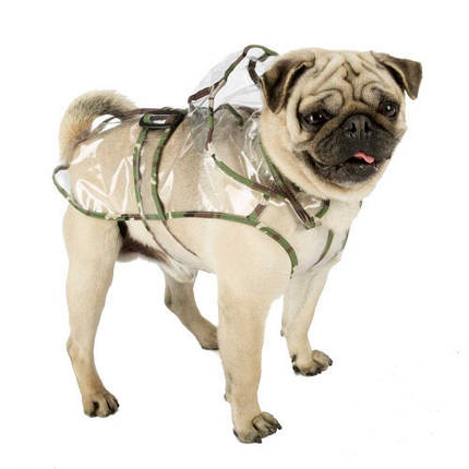 Плащ-дождевик Ferplast Raincoat TG 25 для собак, прозрачный, 25 см, фото 2
