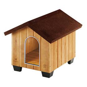 Дерев'яна будка Ferplast Domus Small для собак, 61x74,5x55 см