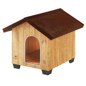 Деревянная будка Ferplast Domus Medium для собак, 73x85x67,5 см