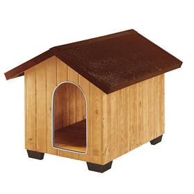 Деревянная будка Ferplast Domus Large для собак, 81,5x102,5x78 см