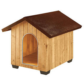 Деревянная будка Ferplast Domus Extra Large для собак, 93,5x113,5x90,5 см