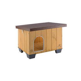 Деревянная будка Ferplast Baita 50 для собак, 58x48x45,5 см