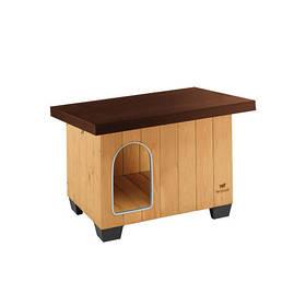 Дерев'яна будка Ferplast Baita 60 для собак, 71,5х57х52.5 см