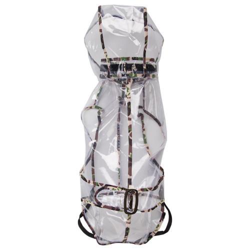 Плащ-дождевик Ferplast Raincoat TG 34 для собак, прозрачный, 34 см