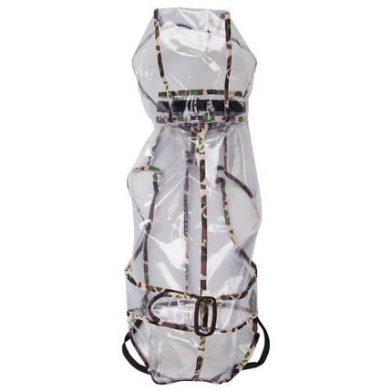 Плащ-дождевик Ferplast Raincoat TG 34 для собак, прозрачный, 34 см, фото 2
