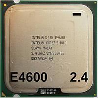 Процессор Intel Core 2 Duo E4600 M0 SLA94 2.40GHz 2M Cache 800 MHz FSB Socket 775 Б/У МИНУС, фото 1