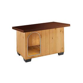 Деревянная будка Ferplast Baita 80 для собак, 102х70х65.5 см