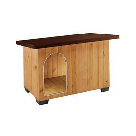 Дерев'яна будка Ferplast Baita 100 для собак, 122х79х78 см
