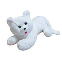 Мягкая игрушка Zolushka Кот Перс травка 57см белый (0561)