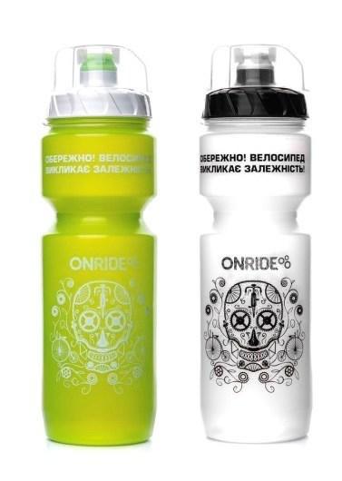 Фляга питьевая, 800 МЛ, защитный колпачек, ONRIDE TANAMI