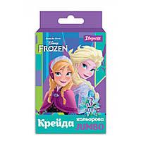 Крейда кольорова Jumbo 3 шт Frozen, 1Вересня
