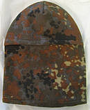 Флисовая шапка-маска (балаклава) камуфлированная, фото 2