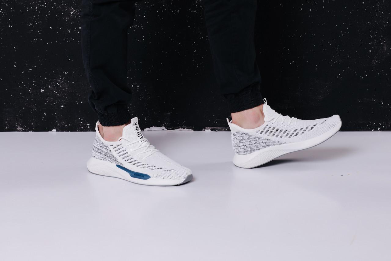 Кросівки чоловічі текстиль білі